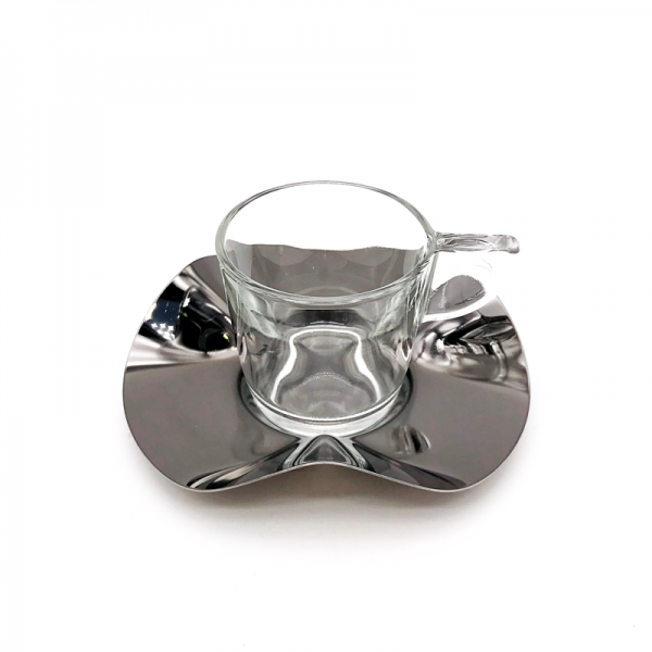 Coffee or espresso set stainless steel